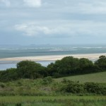 The view towards Pendine Sands