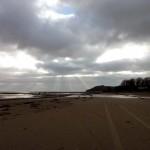 Llansteffan Beach by Patricia Lester